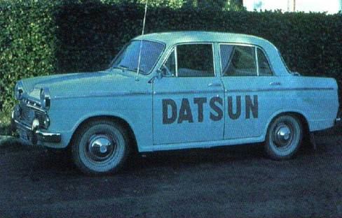 Early Bluebird Datsun
